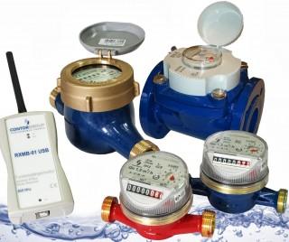 Đồng hồ nước hiệu Contor( RUMANI)